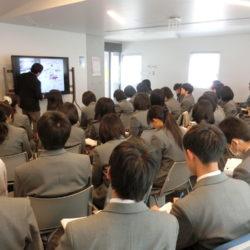 村上ツアー模擬授業